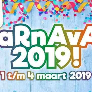 Start kaartverkoop Carnaval 2019